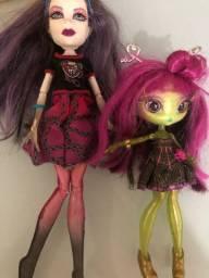 Boneca Monster High original + boneca brinde
