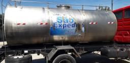 Tanque de alumínio para carregar água em Lajedo,Pernambuco