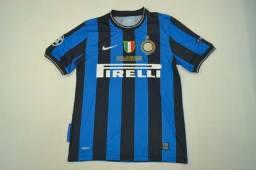 Camisa Inter de Milão Liga dos Campeões da Europa 2010 Original Nike