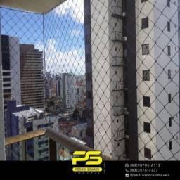 Apartamento com 1 dormitório para alugar, 33 m² por R$ 1.800,00/mês - Manaíra - João Pesso