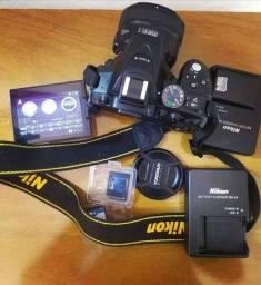 Vendo Câmera Profissional Nikon D 5300
