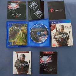 The witcher 3 PS4 edição de lançamento.