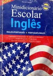 Minidicionário escolar inglês/português e português/inglês