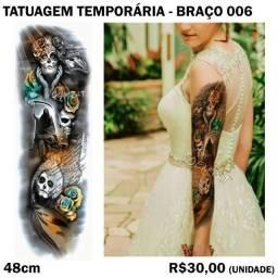 Tatuagem Temporária de Braço - Modelo 06