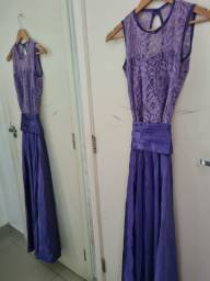 Lindo vestido longo de festa