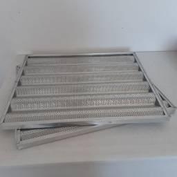 Esteira assadeira para forno estante alumínio.