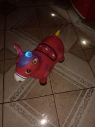 Um cavalinho pula-pula