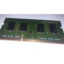 Placa memória RAM para notebook ddr3 2gb