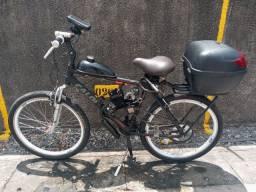 Bicicleta motorizada com alarme e rastreador