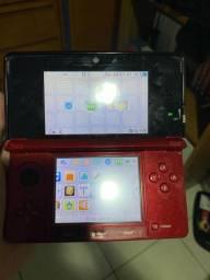 Nintendo 3ds desbloqueado/ vendo ou troco