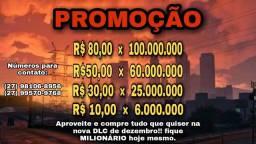 UP SUA CONTA NO GTA V ONLINE HOJE MESMO!!