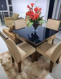 Mesa de janta 4 cadeiras entrega e montagem imediata grátis