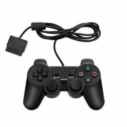 Controle Joystick Playstation Ps2 Inova Con-8302 Preto