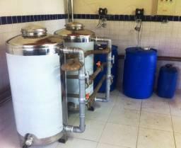 Tratamento de água e eliminação de ferro de poço