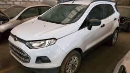 Ford Ecosport SE 1.6 2014 Branca Sucata, para retirada de peças em Campo Grande, RJ