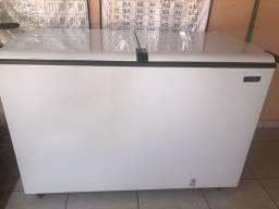 Freezer Esmaltec Horizontal 2 tampas Branco