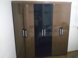 Guarda roupa usado 06 portas