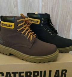 Bota Caterpillar Brown Black