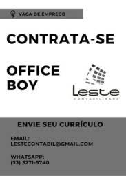 Contrata-se Office Boy