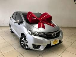 Honda - Fit Ex C/ Bancos de Couro Completíssimo 2016