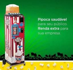 Maquina de pipoca eletrica usada venda machine
