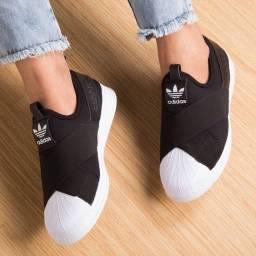 Lindo Tênis Adidas Slip On n-38