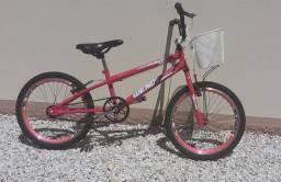 Bicicleta cross aro 20 feminina