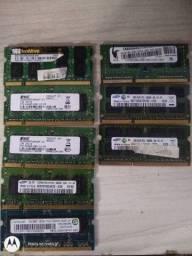 Memória ram , processadores e placa de rede