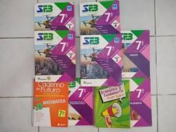 Livros SESC 7ano R$250,00