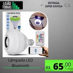 Título do anúncio: Lâmpada Led Bluetooth Caixa Som Musical Controle Remoto