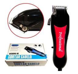 Maquina De Cortar Cabelo Barba Profissional Knup Motor V5000