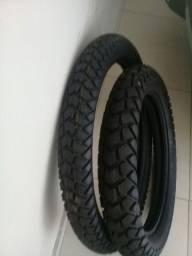 par de pneus vipal da Xre300/LANDER / XTZ