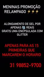ALONGAMENTO DE GEL 35,00
