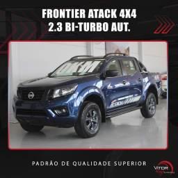 Título do anúncio: Nissan Frontier Attack. cd 4x4 2.3 Bi-Tb Die. Aut 2021 Diesel