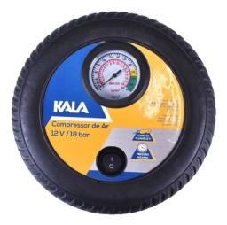 Compressor de Ar 12V Enche Pneu e Bola Kala