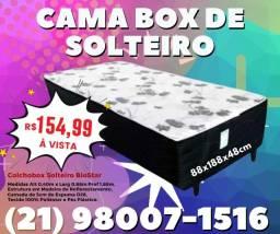 Cama Box de Solteiro Biostar