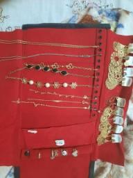 Vendo pano de joias folheadas 55 reias completo