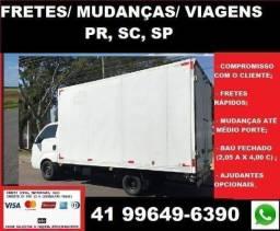 Disk Mudanças e Carretos PR,  SC,  SP