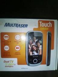 Vendo tel com tv digital hd e entrada pra 3 chips de tel.