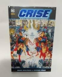 Título do anúncio: Crise nas Infinitas Terras - DC Comics - Lacrado