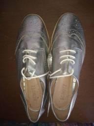 Título do anúncio: Sapato prata