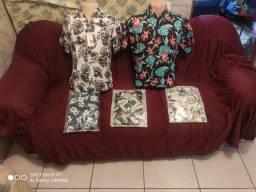 Camisa Floral moda praia e Camisas slim fit M.C R$ 64,99/ Camisas Dudalina 80