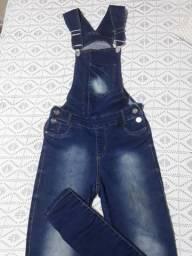 macacão  jeans Tam 42