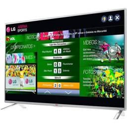 "Smart tv LG 32"" Seminova"
