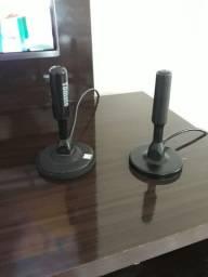 Vende- se 2 antenas digital de TV interna