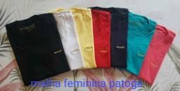 Camisa Malha Patogê Feminina Original