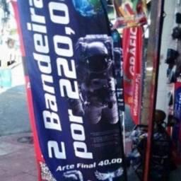 2 Windbanner por R$220,00