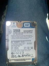 HD de 320 funcionando 60,00