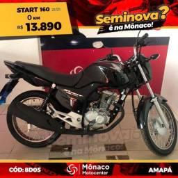 Título do anúncio: Honda CG Start 160 21/21- Seminovos Mônaco