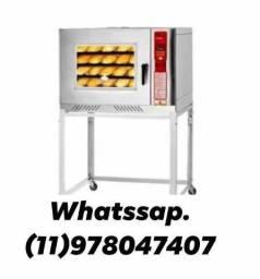 Forno turbo 5 esteiras progas*forno de assar pão<br>
